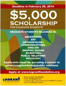 LAGrant Foundation Scholarship