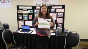 Doyon Foundation student and Miss WEIO Chanda Simon