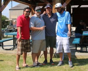 2015 MTMGC Winners - Stewart Thompson, Dennis Mullen, Frank Thompson, Micah Bartlett