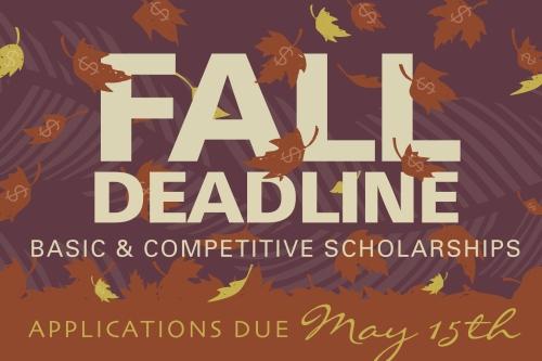 DF_22_Fall Scholarship Reminder Promotion_blog2