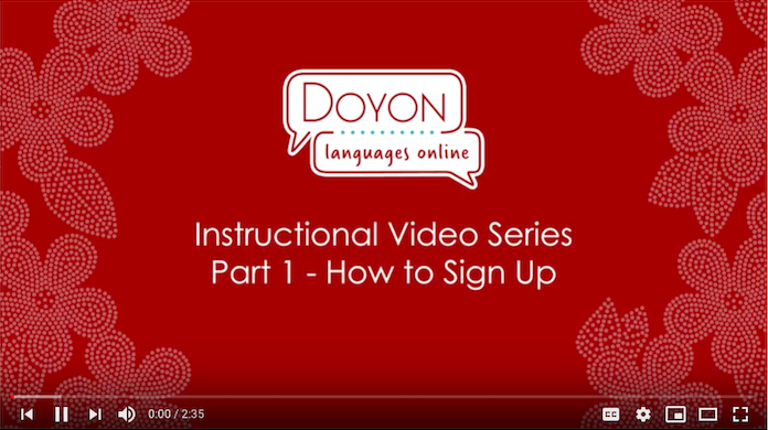 DLO instructional video screenshot