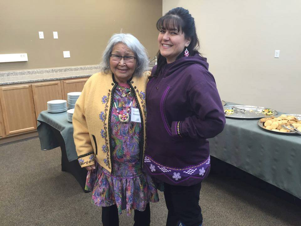 Jennifer with Great Aunt Elizabeth Fleagle