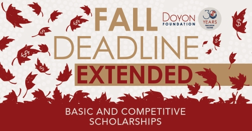 156_Fall Scholarship Promotion Extended_FB-IN